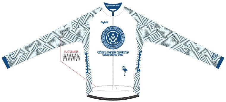 CWA Flamingo Racing - Firenze Long Sleeve Cycling Jersey. Men