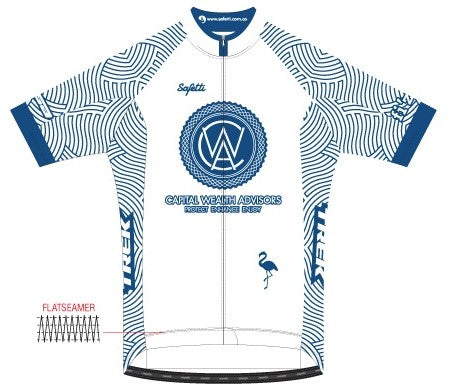 CWA Flamingo Racing - Firenze Short Sleeve Cycling Jersey. Men