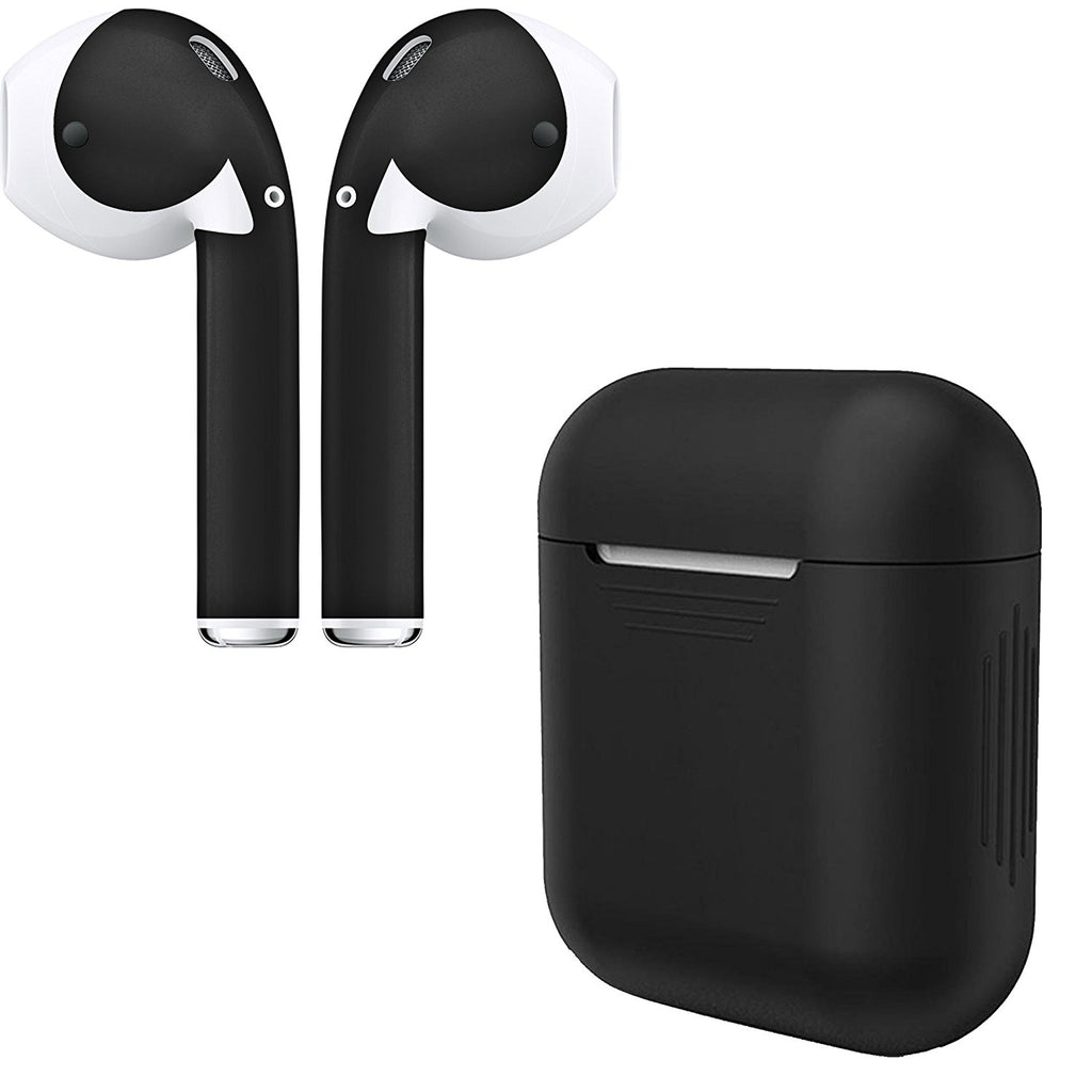 AirPod Skins and Protective Silicone Charging Case Bundle