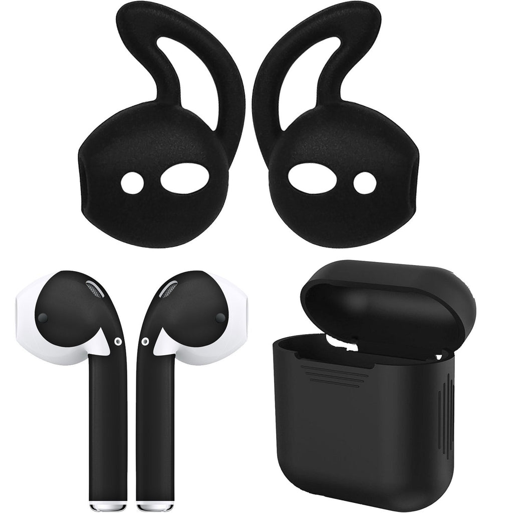AirPod Skins, Earhooks and Case Bundle