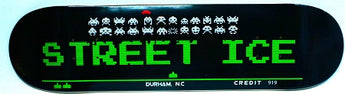 Street Ice Space Invaders Skate Deck