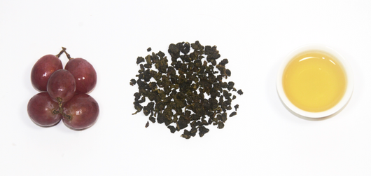 muscat green oolong tea