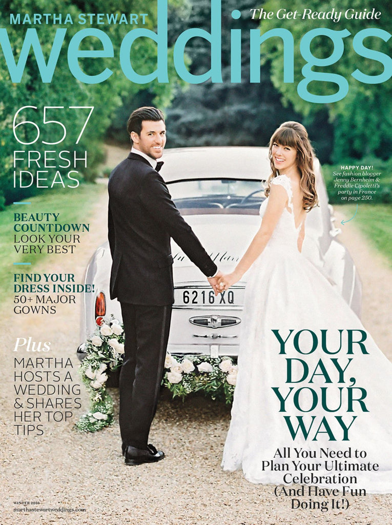 Martha Stewart Weddings - January 2016