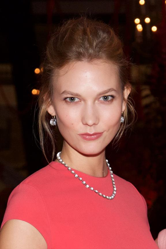 Karlie Kloss Wears Larkspur & Hawk to Carnegie Hall