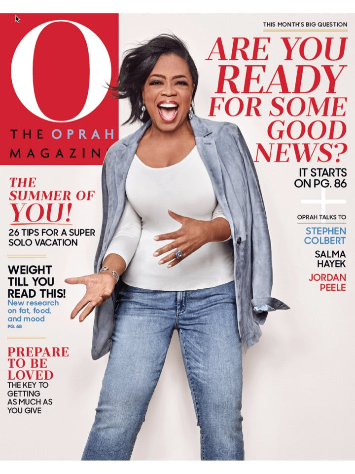 Oprah Magazine Cover - June 2018