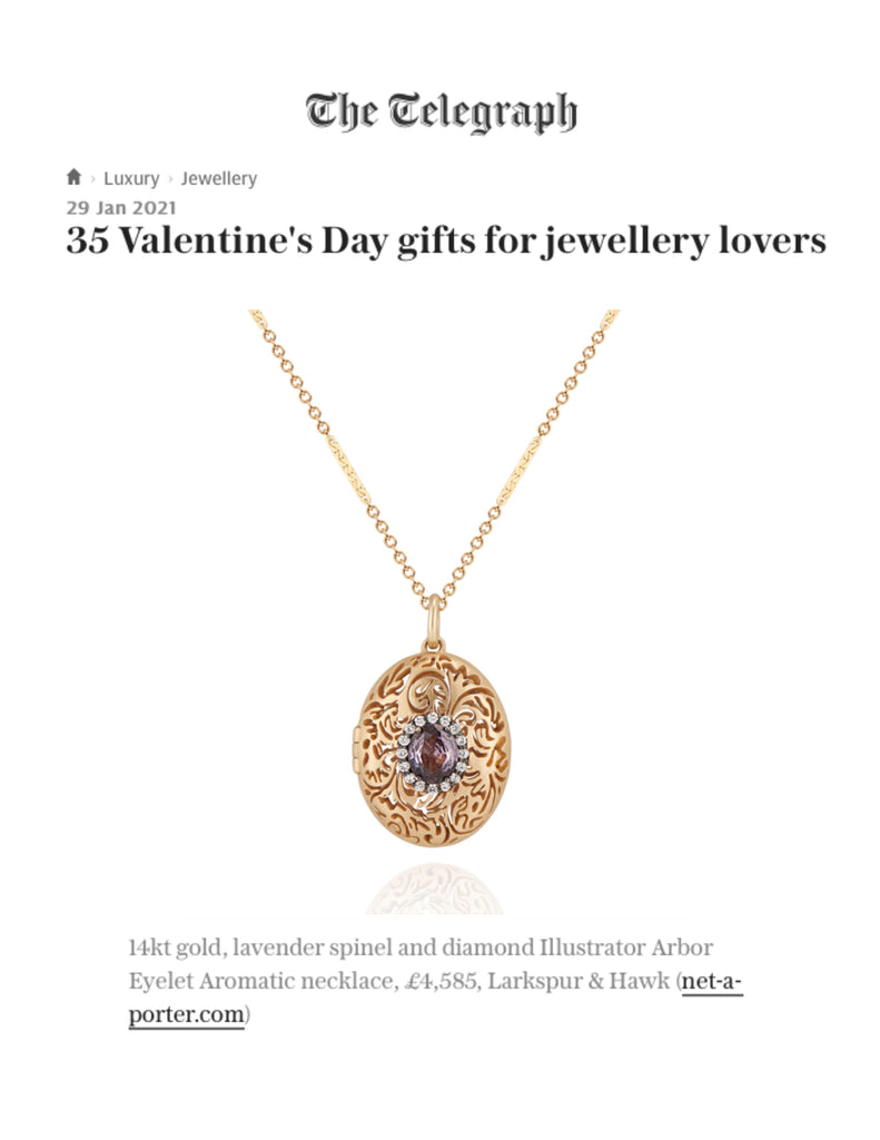 The Telegraph Luxury - Valentine's Day Gift Guide