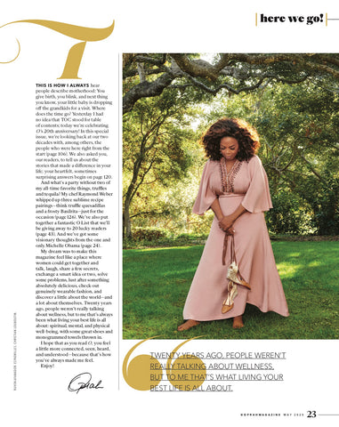 Oprah Magazine May 2020 Sadie Girandole Earrings