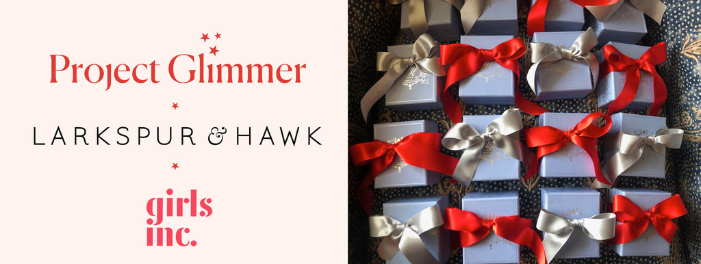 Project Glimmer Larkspur & Hawk Gifts