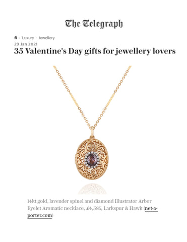 The Telegraph Valentine's Gift Guide Aromatic Locket