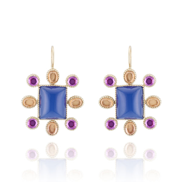 Cora Cushion Earrings (Archive Sale)