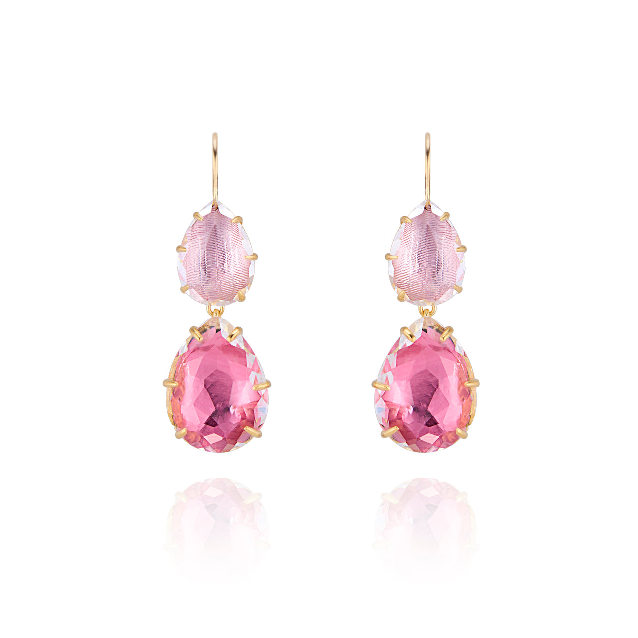 Caterina Large Double Drop Earring
