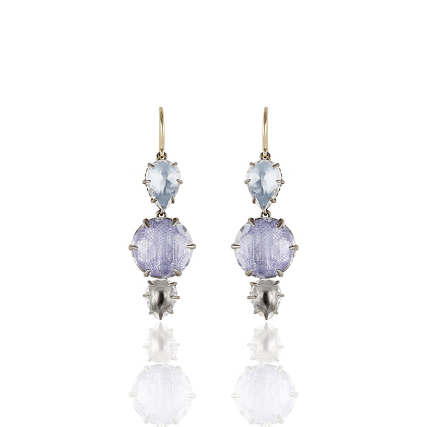 Larkspur & Hawk Caterina Branch Earrings, Blue