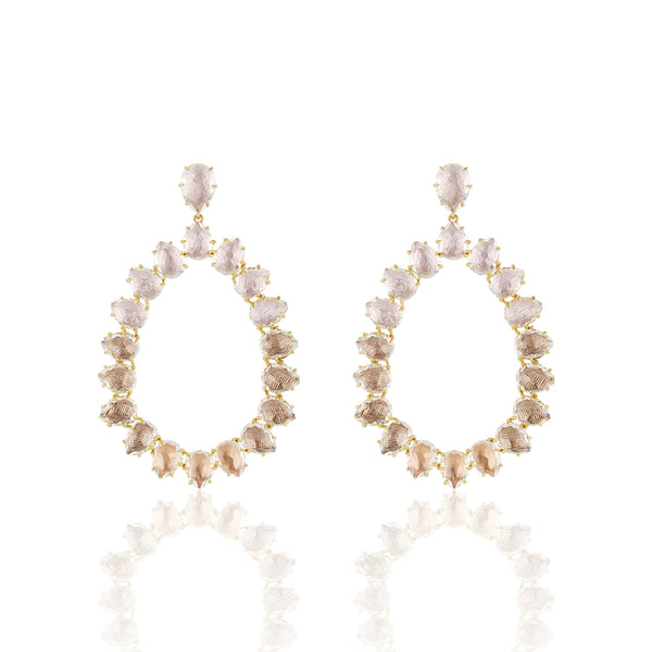 Caterina Large Frame Earring