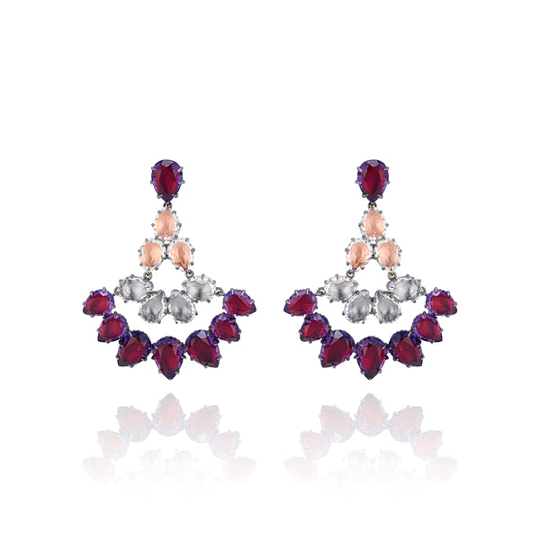 Caterina Fan Earrings