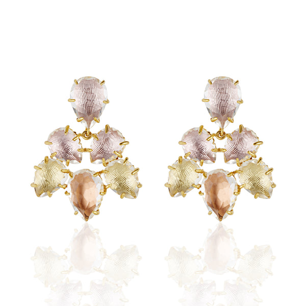 Caterina Pansy Earring