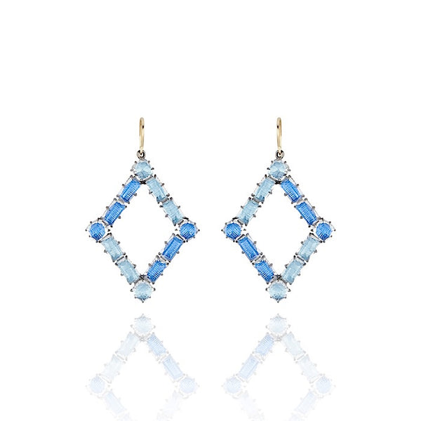 Caterina Rhombus Earrings