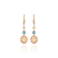 Arbor Eyelet Cage 2-Drop Bellflower Earrings