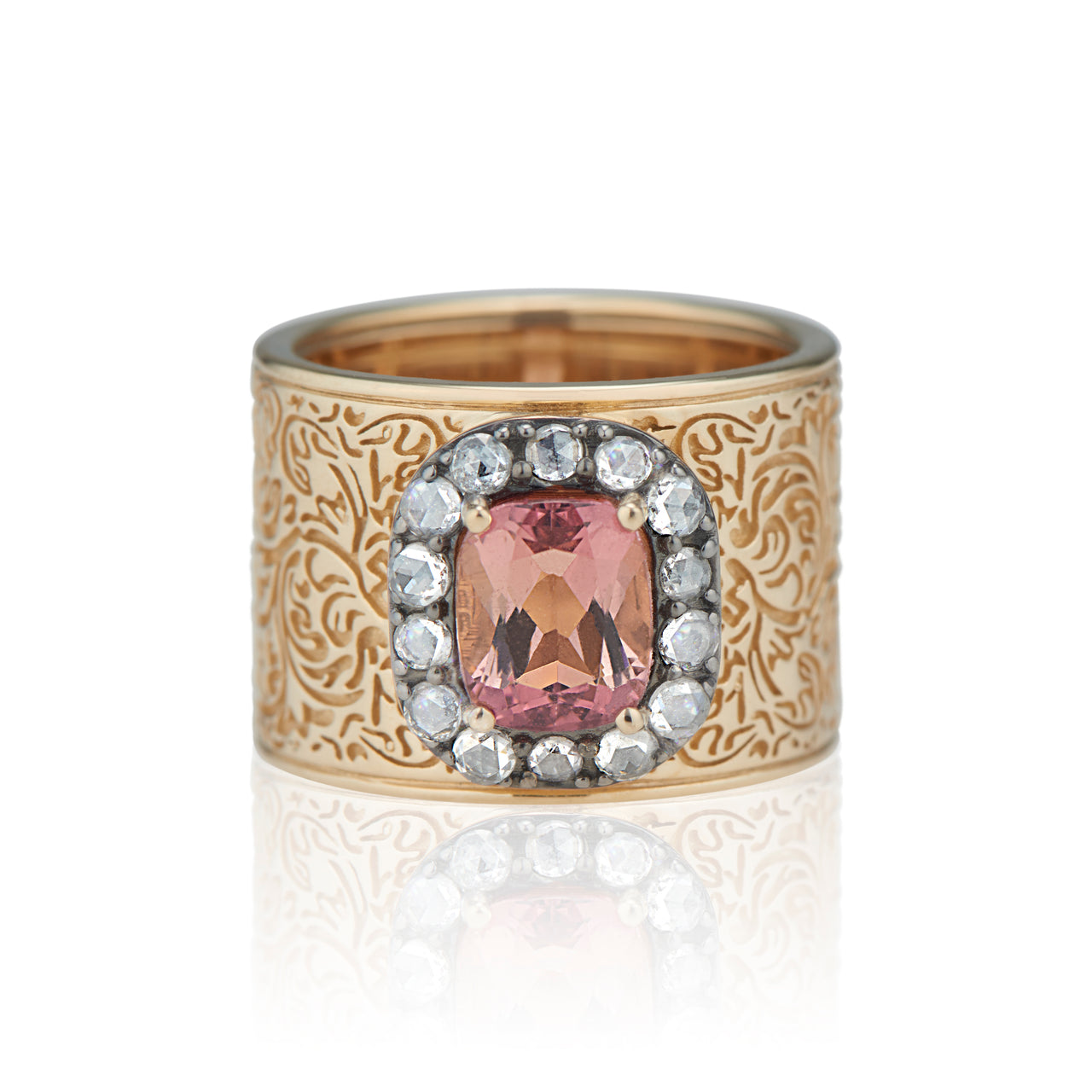 Arbor Pavé Solitaire Cigar Band