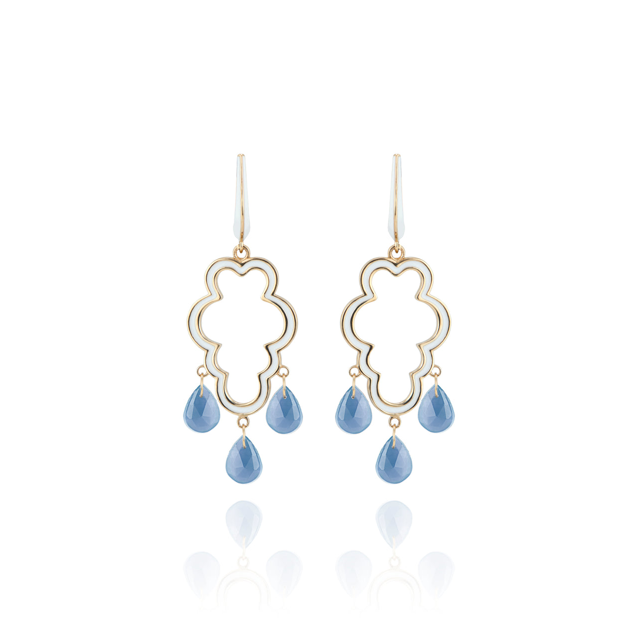 Cloud Girandole Earrings