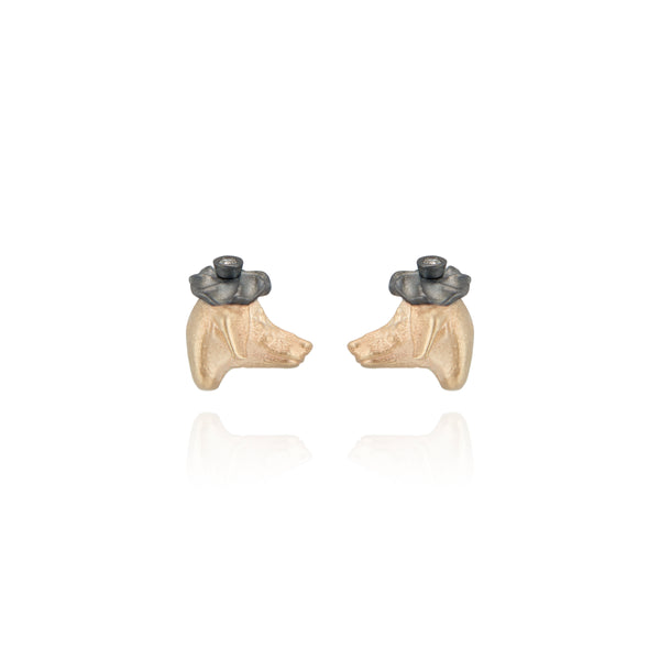 Dog Stud Earrings