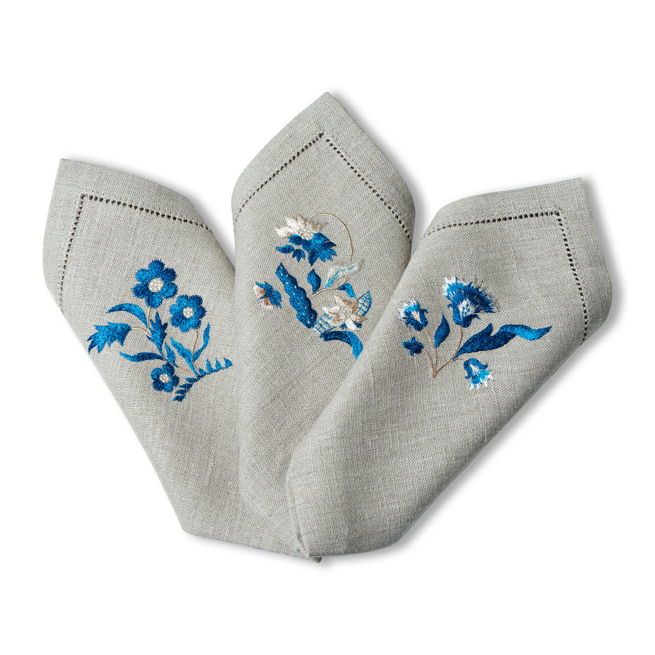 Posy Embroidered Napkins