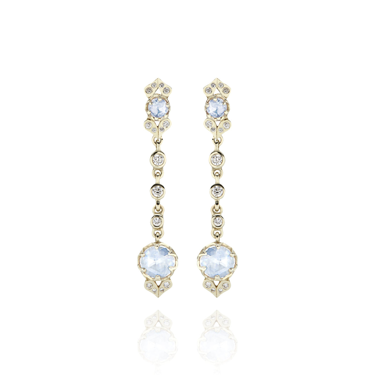 Ivy 1-Drop Cluster Earrings