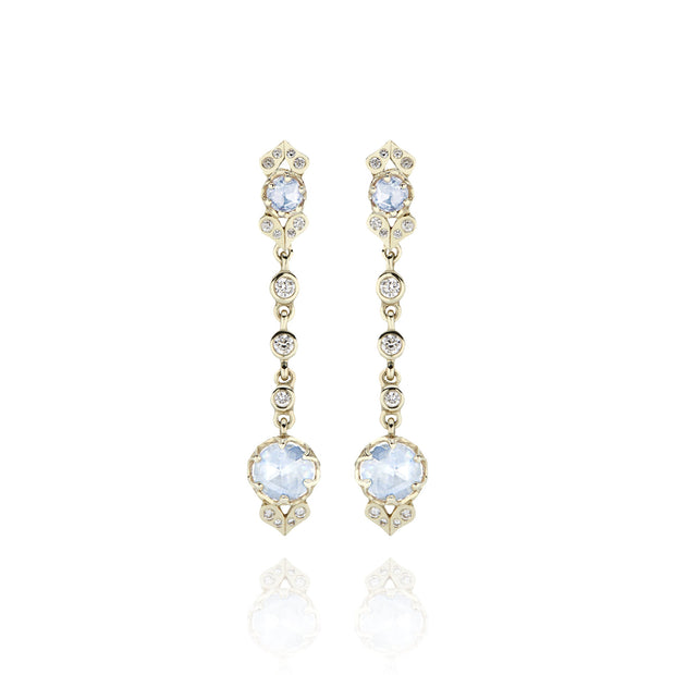 Ice / 14k Pale Yellow Gold / -