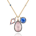 "Lady Emily Elements Cluster 22"" Necklace - Air"