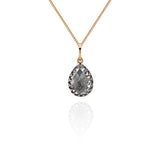 "Lady Jane Small Pear Charm 16"" Necklace"