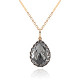 "Lady Jane Large Pear Charm 17"" Necklace"
