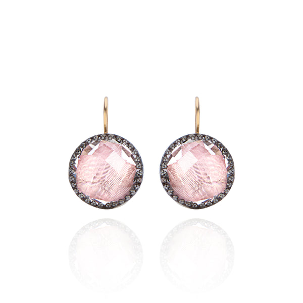 Olivia Button Earrings