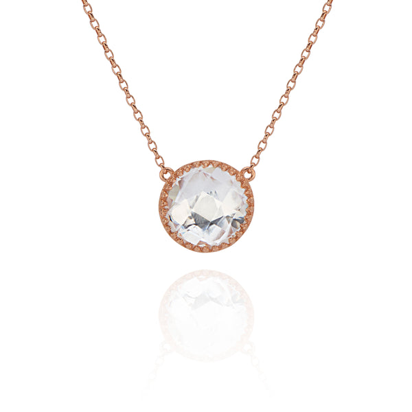 Olivia Button Necklace