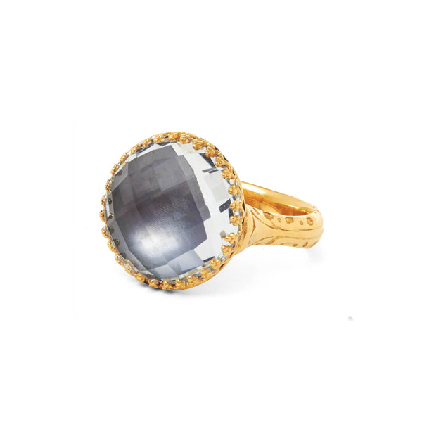 Olivia Button Ring