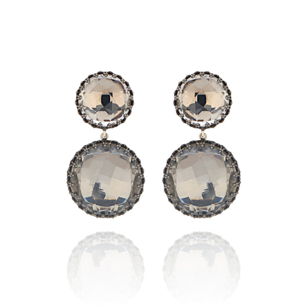 Olivia Large Day Night Earrings