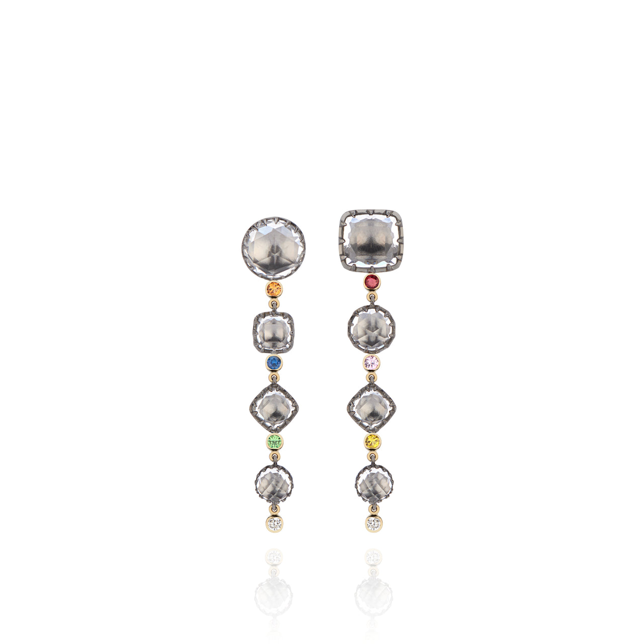 Sadie Cascade 4-Drop Earrings