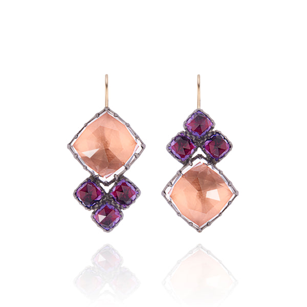 Sadie Cluster Earrings