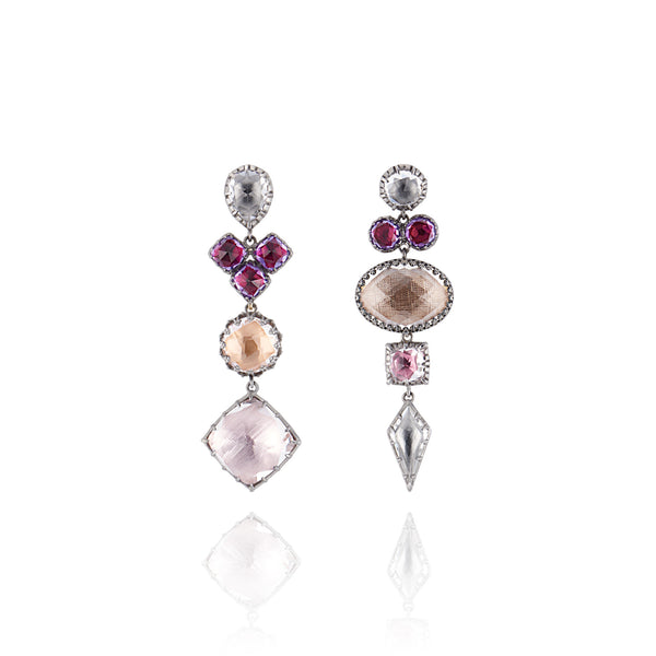Sadie Mis-Matched Convertible Earrings