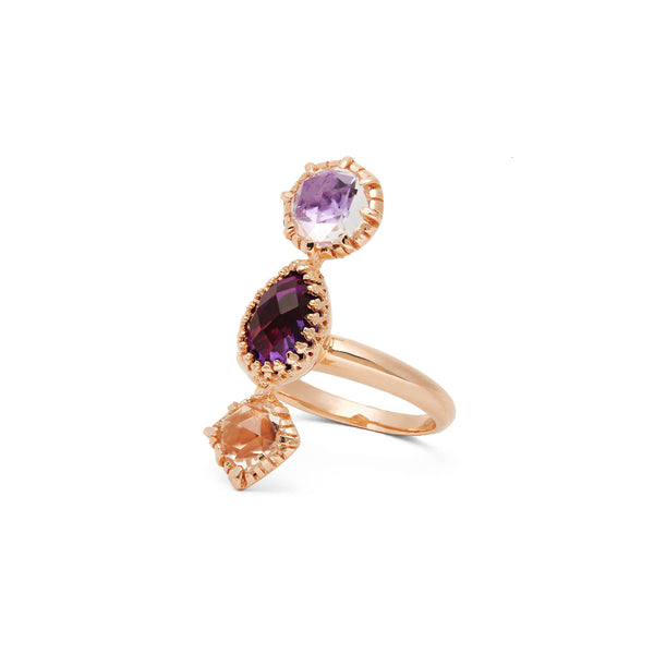 Sadie 3-Stone Ring