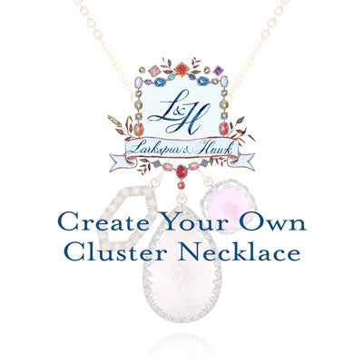 Custom Lady Cluster Necklace