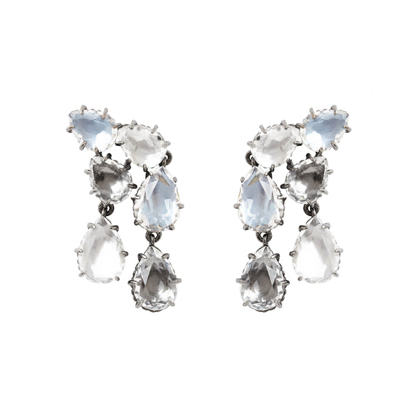 Caterina Double Cascade Earring