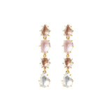 Caterina Single Cascade Earring