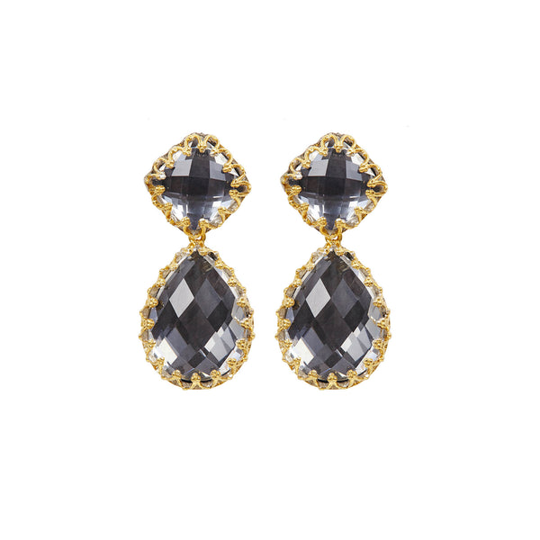 Jane Large Day Night Earrings