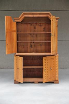 Exceptional Vintage German Wooden Cupboard From The 1920u0027s. FREE SHIPPING! U2013 Denver Furniture  Company