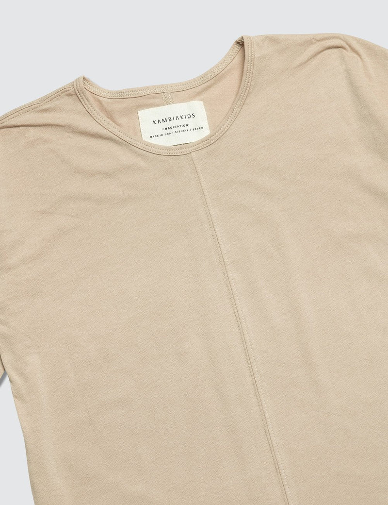 Tan Short Sleeve Top