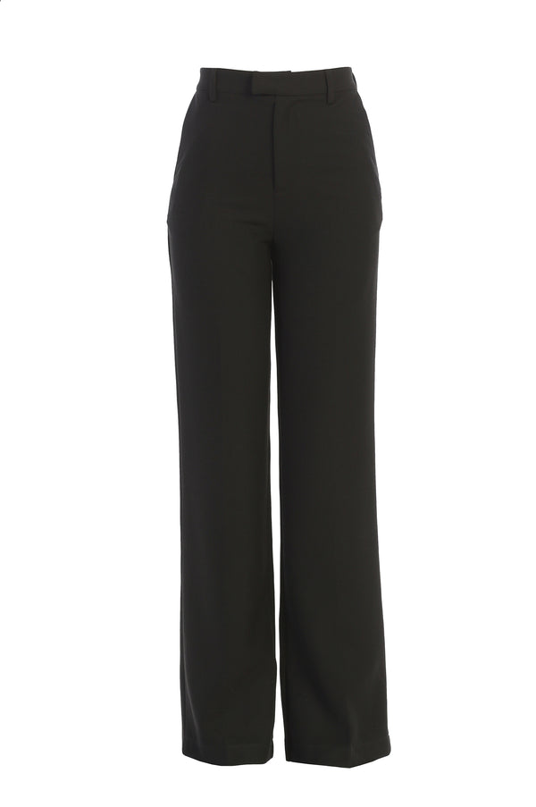 BLACK LEWIN TAILORED TROUSERS