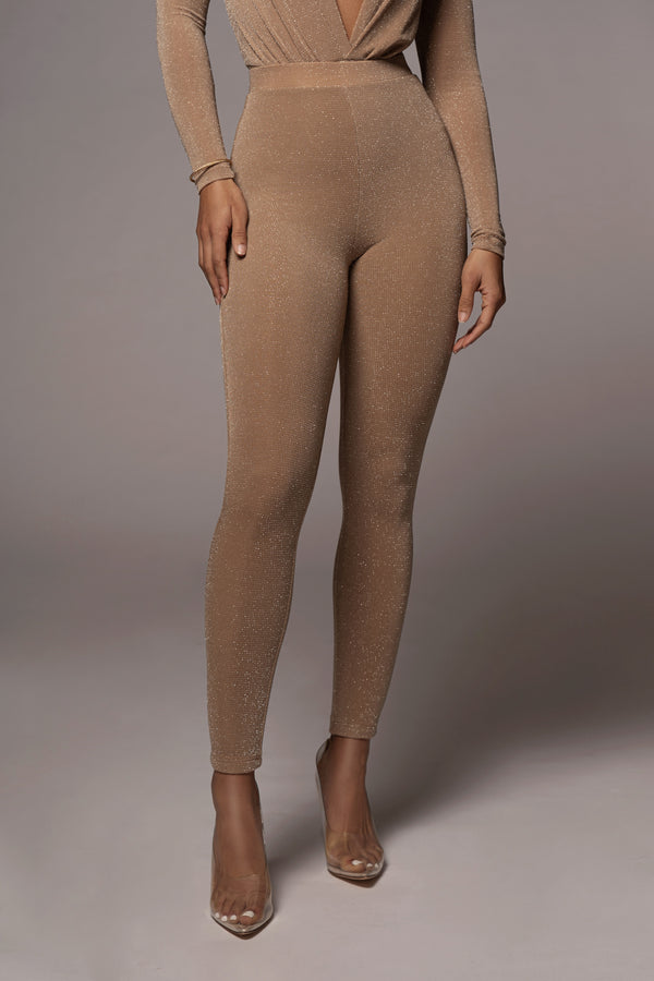TAN INEX LEGGINGS