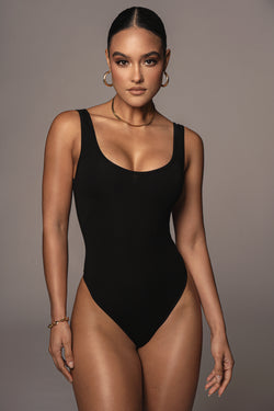 BODYBASIX BLACK PILAR BODYSUIT