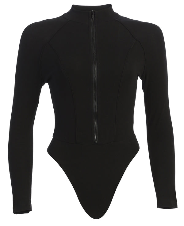 BLACK PIPER FITTED BODYSUIT