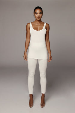Ivory Marlow Knit Tank Top