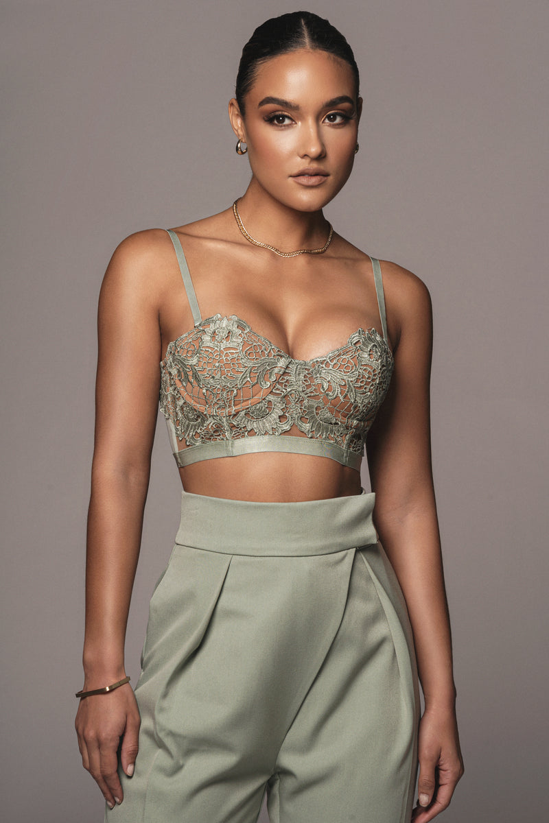 SAGE RYLEE LACE BUSTIER